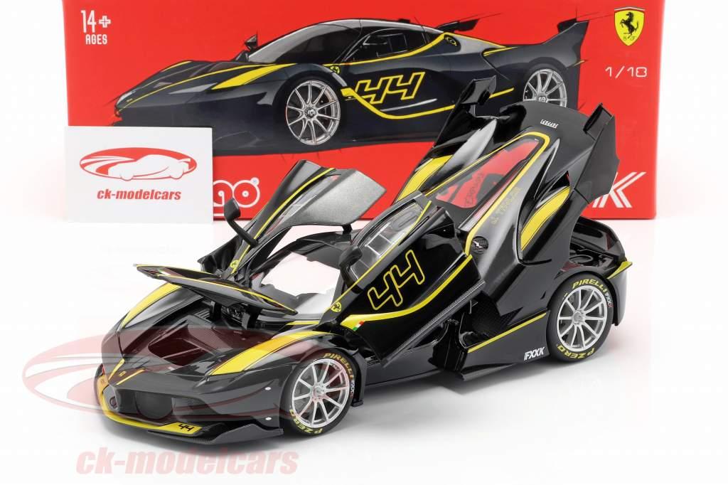 Ferrari FXX-K #44 preto 1:18 Bburago Signature