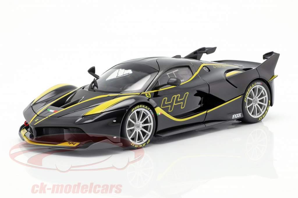Ferrari FXX-K #44 schwarz 1:18 Bburago Signature