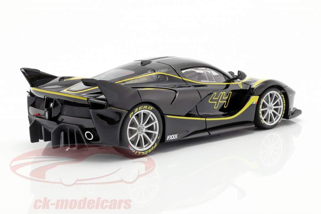 Ferrari FXX-K #44 negro 1:18 Bburago Signature
