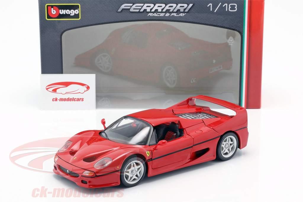 Ferrari F50 rouge 1:18 Bburago
