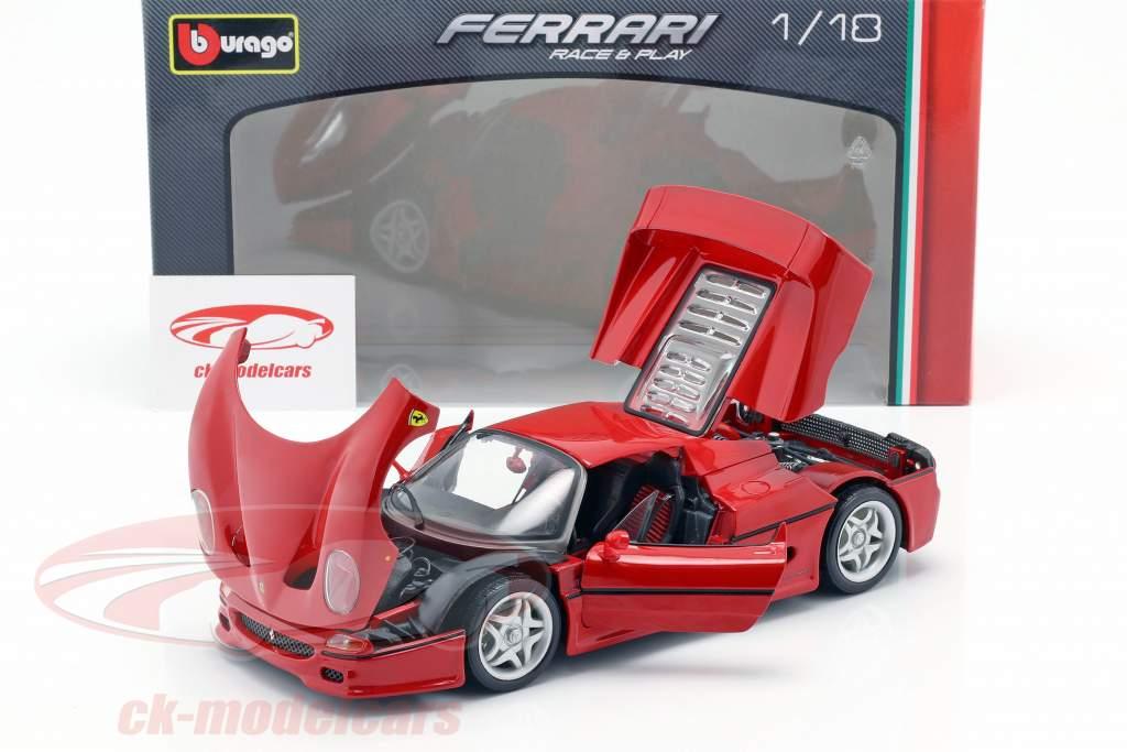 Ferrari F50 rød 1:18 Bburago
