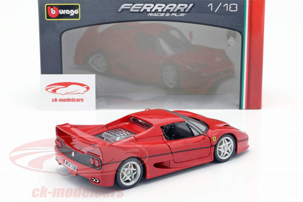 Ferrari F50 rood 1:18 Bburago