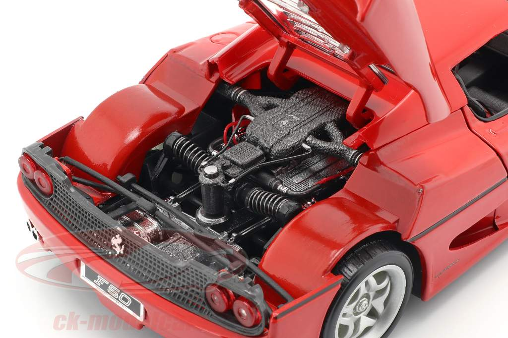 Ferrari F50 red 1:18 Bburago
