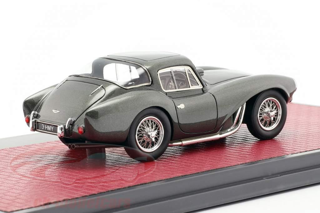 Aston Martin DB3 S FHC année de construction 1956 vert foncé métallique 1:43 Matrix