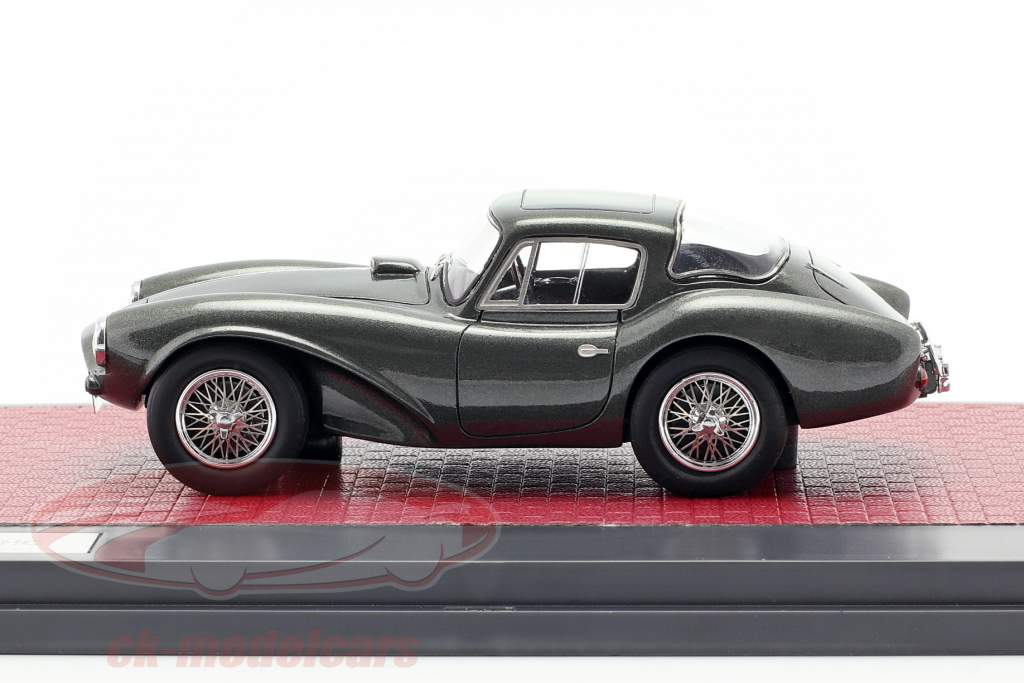 Aston Martin DB3 S FHC year 1956 dark green metallic 1:43 Matrix