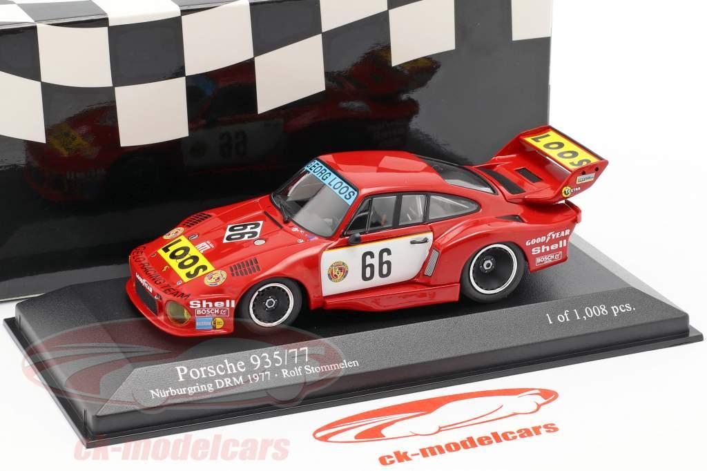 Porsche 935/77 #66 Winnaar DRM Nürburgring 1977 Stommelen 1:43 Minichamps