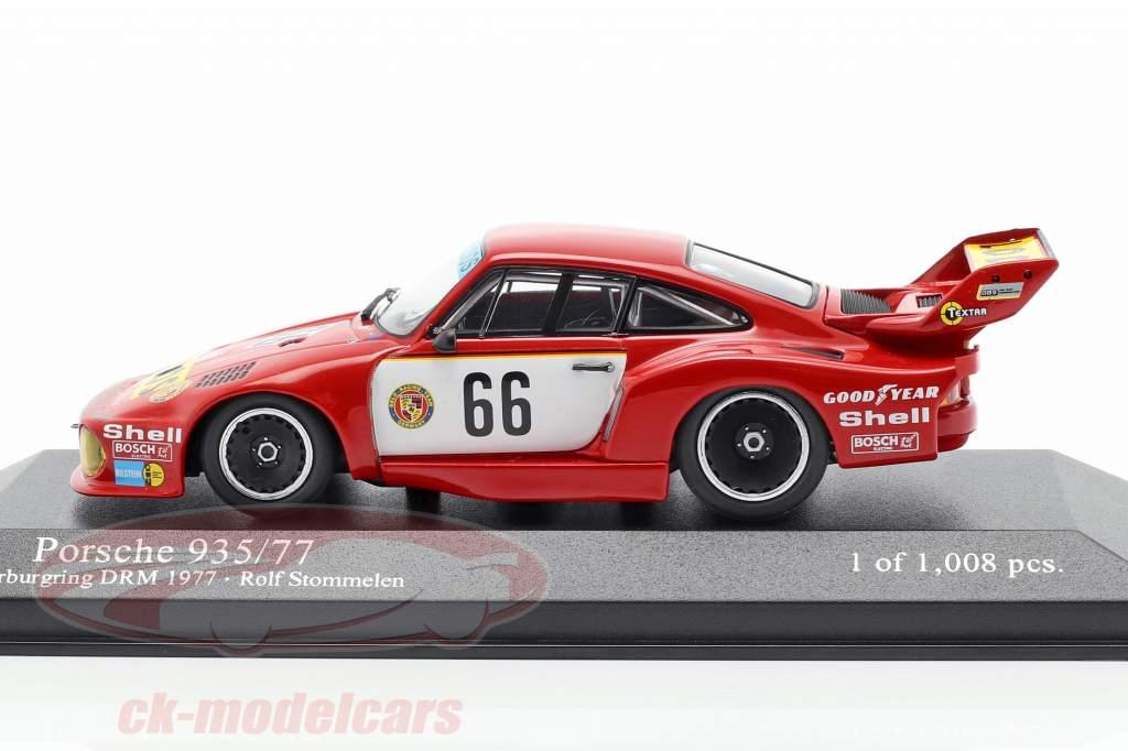 Porsche 935/77 #66 Vencedor DRM Nürburgring 1977 Stommelen 1:43 Minichamps