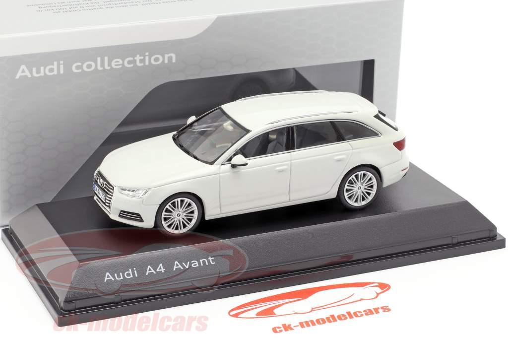 Audi A4 Avant gletsjer wit 1:43 Spark