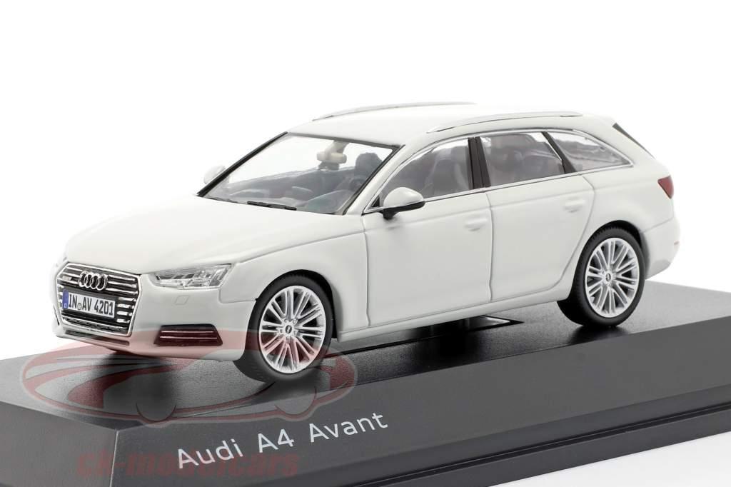 Audi A4 Avant geleira branco 1:43 Spark