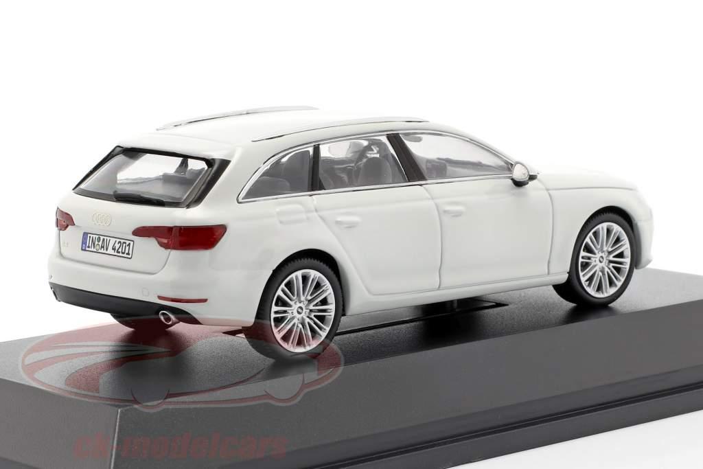 Audi A4 Avant glacier blanc 1:43 Spark