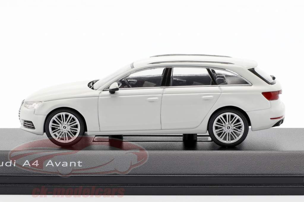 Audi A4 Avant glaciar blanco 1:43 Spark