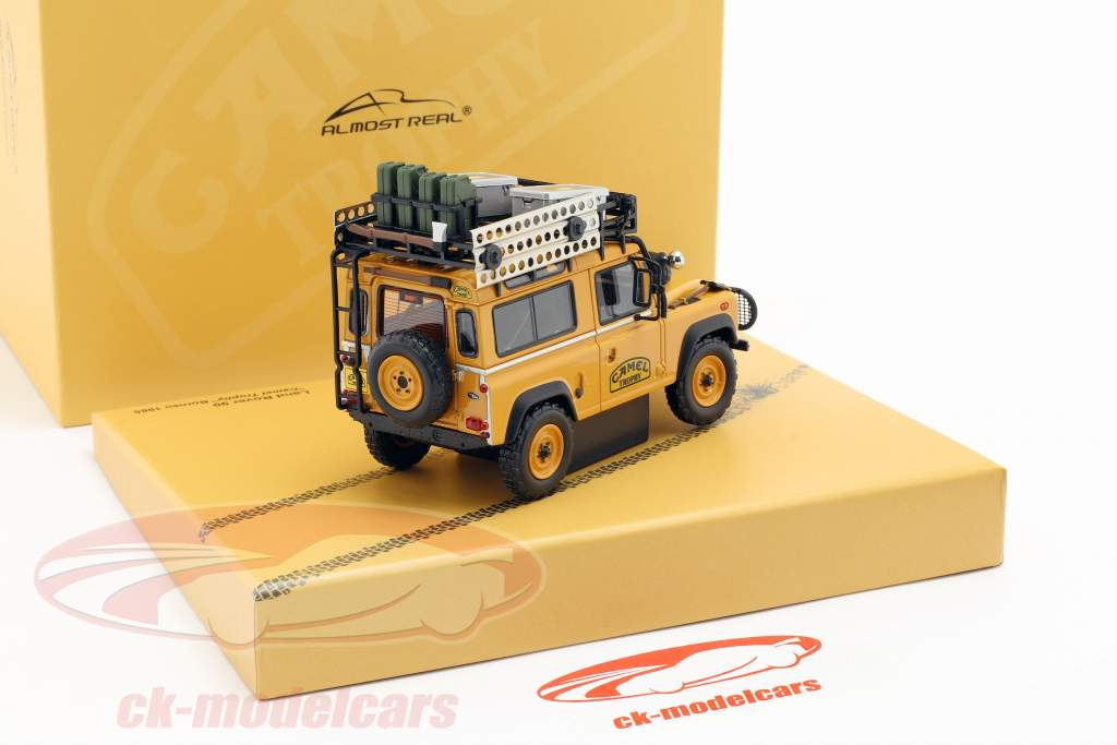 Land Rover Defender 90 Camel Trophy Borneo 1985 tawny 1:43 Almost Real