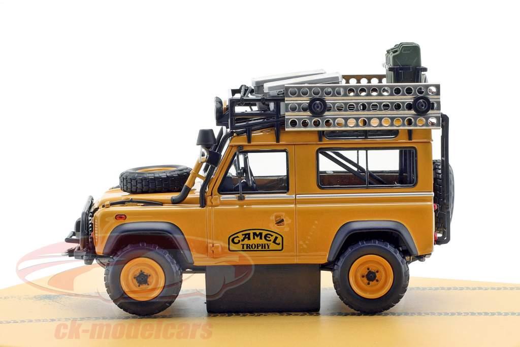 Land Rover difensore 90 Camel Trophy Borneo 1985 fulvo 1:43 Almost Real