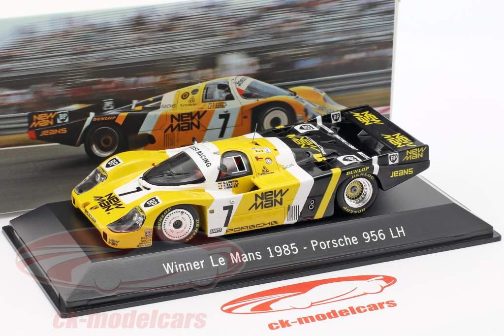 Porsche 956 LH #7 Vencedor 24 LeMans 1985 Ludwig / Barilla / Krages 1:43 Spark