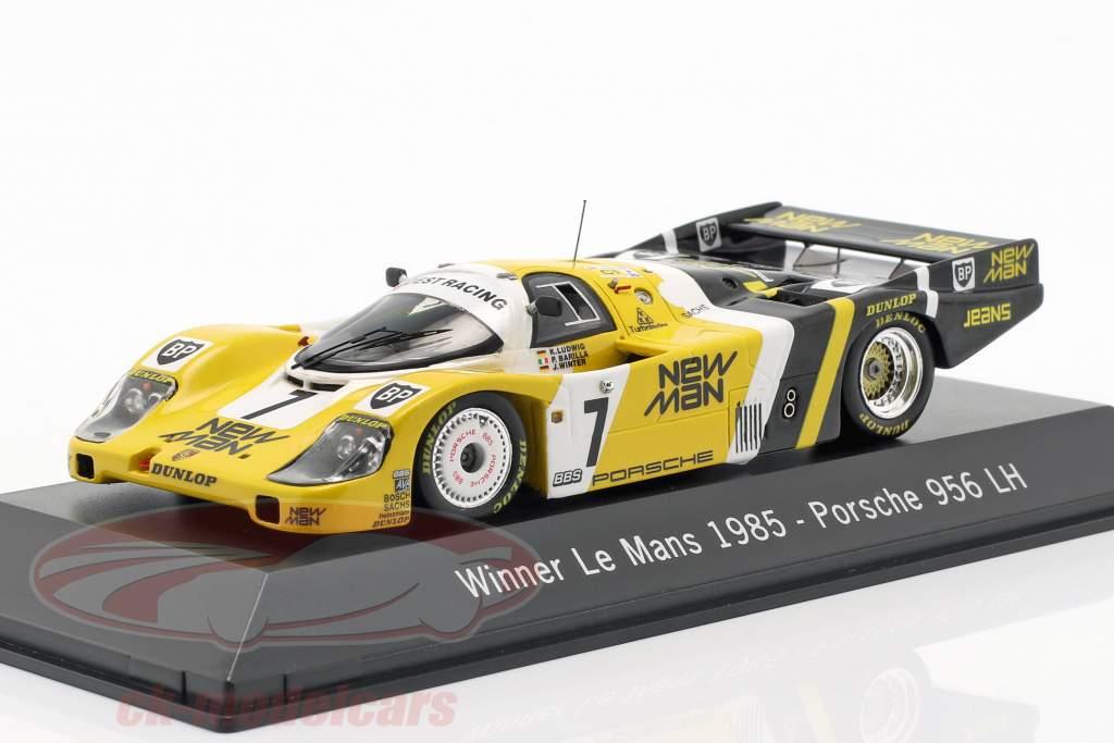 Porsche 956 LH #7 Winnaar 24 LeMans 1985 Ludwig / Barilla / Krages 1:43 Spark