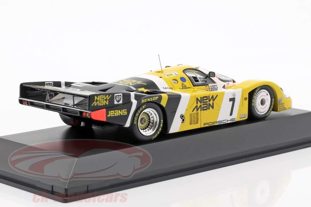 Porsche 956 LH #7 Gagnant 24 LeMans 1985 Ludwig / Barilla / Krages 1:43 Spark