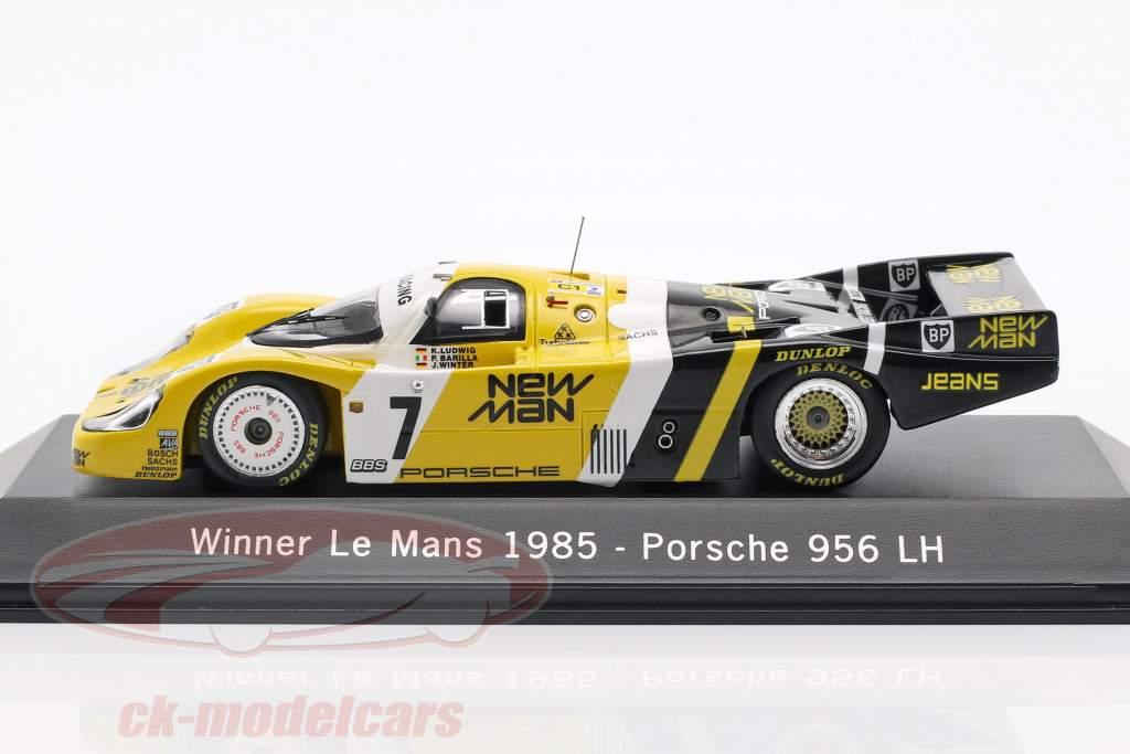 Porsche 956 LH #7 Vinder 24 LeMans 1985 Ludwig / Barilla / Krages 1:43 Spark