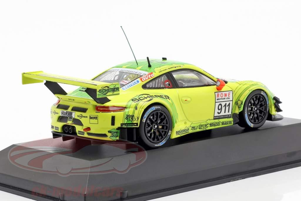 Porsche 911 (991) GT3 R #911 ganador VLN 1 Nürburgring 2018 Manthey Grello 1:43 CMR