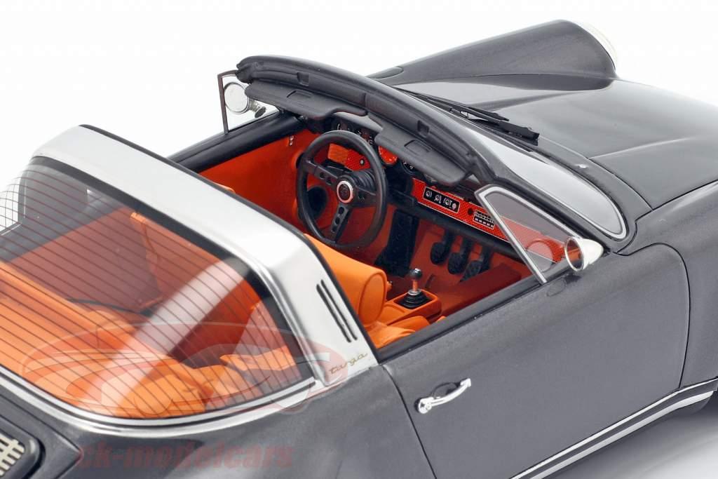 Porsche 911 (964) Targa Singer ano de construção 1990 cinza 1:18 Cult Scale