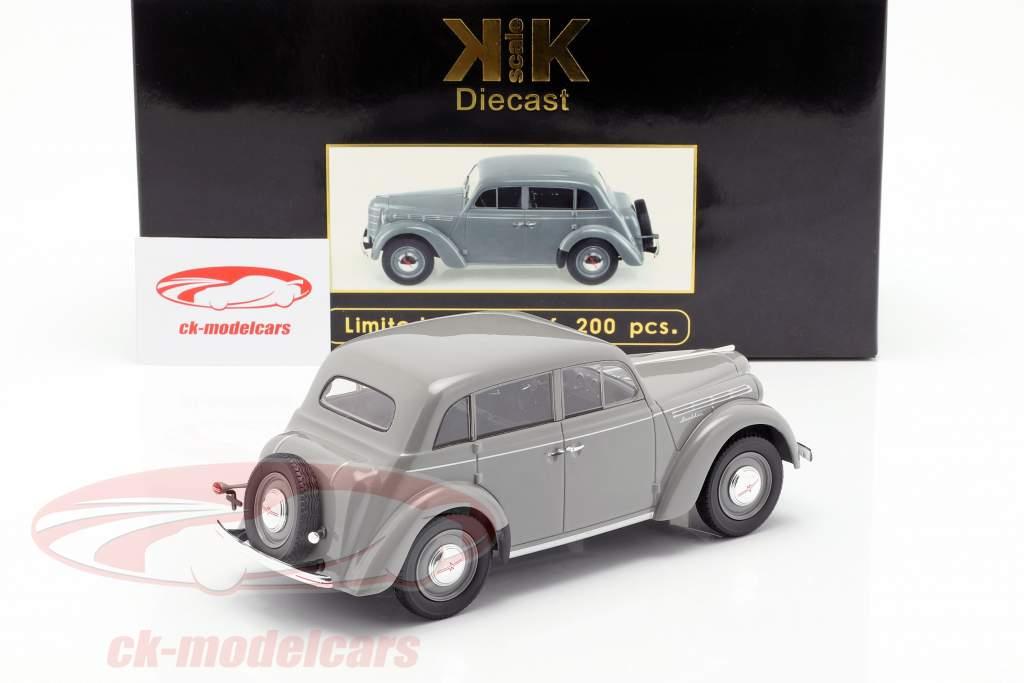Moskwitsch 400 Bouwjaar 1946 grijs 1:18 KK-Scale