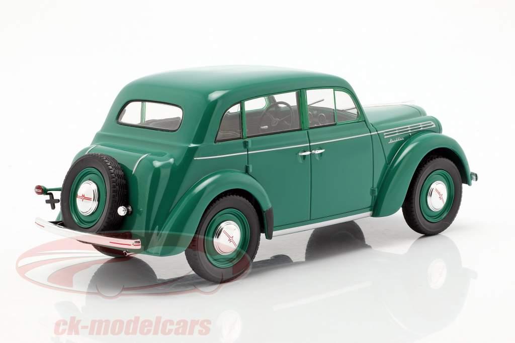 Moskwitsch 400 ano de construção 1946 verde 1:18 KK-Scale