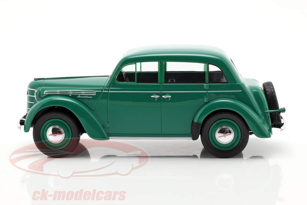 Moskwitsch 400 année de construction 1946 vert 1:18 KK-Scale