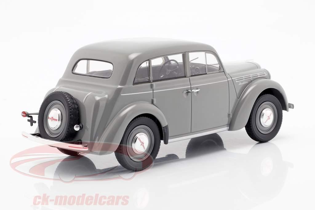 Moskwitsch 400 ano de construção 1946 cinza 1:18 KK-Scale