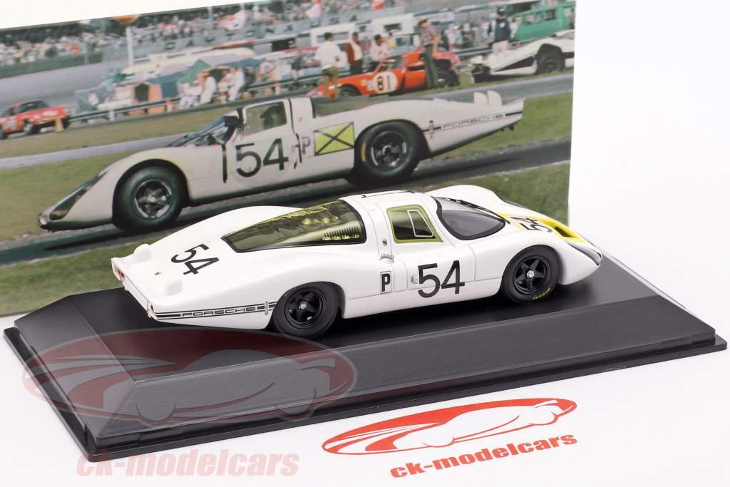 Porsche 907 LH #54 Gagnant 24h Daytona 1968 1:43 Spark
