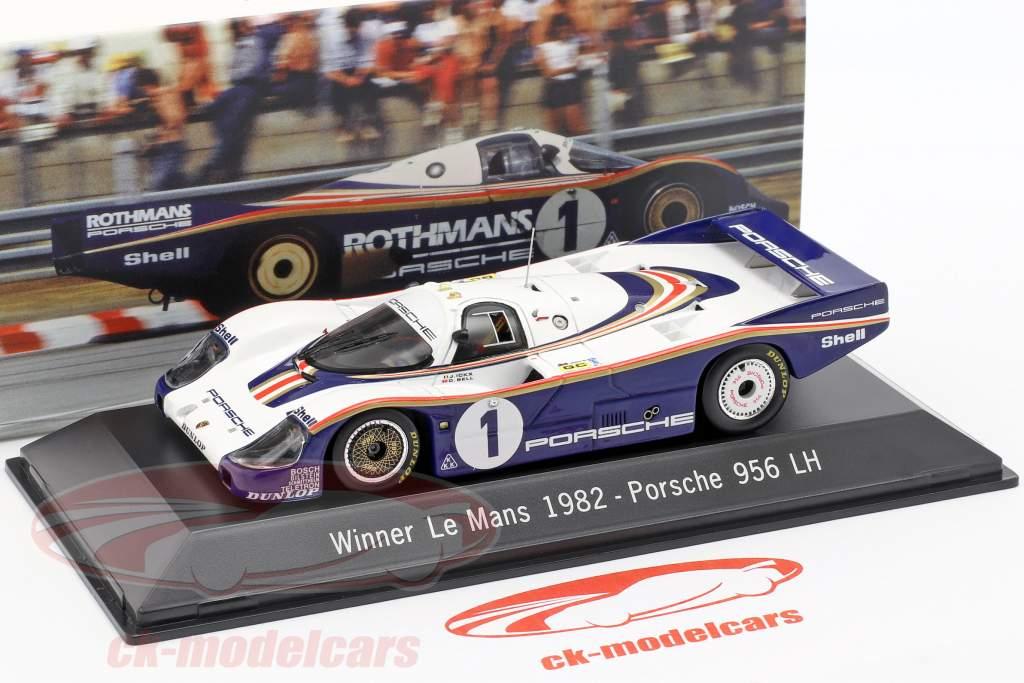 Porsche 956 LH #1 Ganador 24 LeMans 1982 Ickx / Bell 1:43 Spark