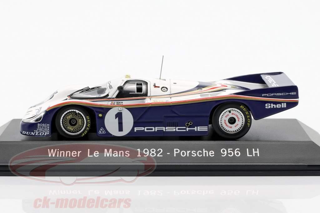 Porsche 956 LH #1 Vencedor 24 LeMans 1982 Ickx / Bell 1:43 Spark