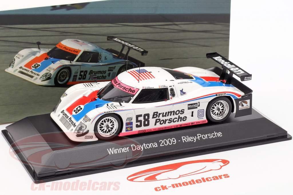 Riley-Porsche #58 Ganador 24 Daytona 2009 Brumos Racing 1:43 Spark