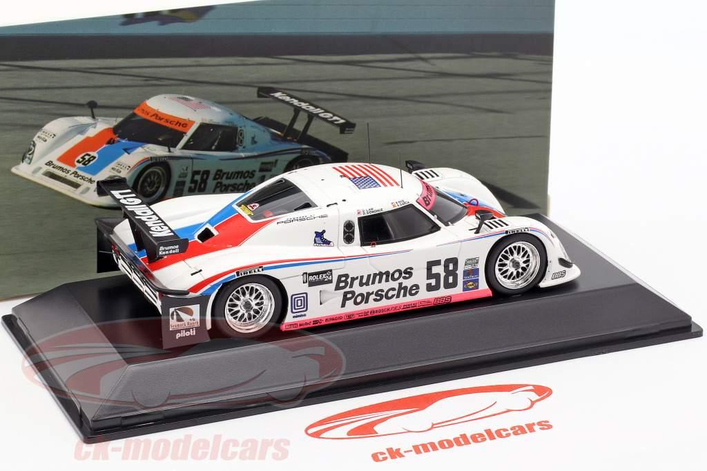 Riley-Porsche #58 Winnaar 24 2009 Daytona Brumos Racing 1:43 Spark