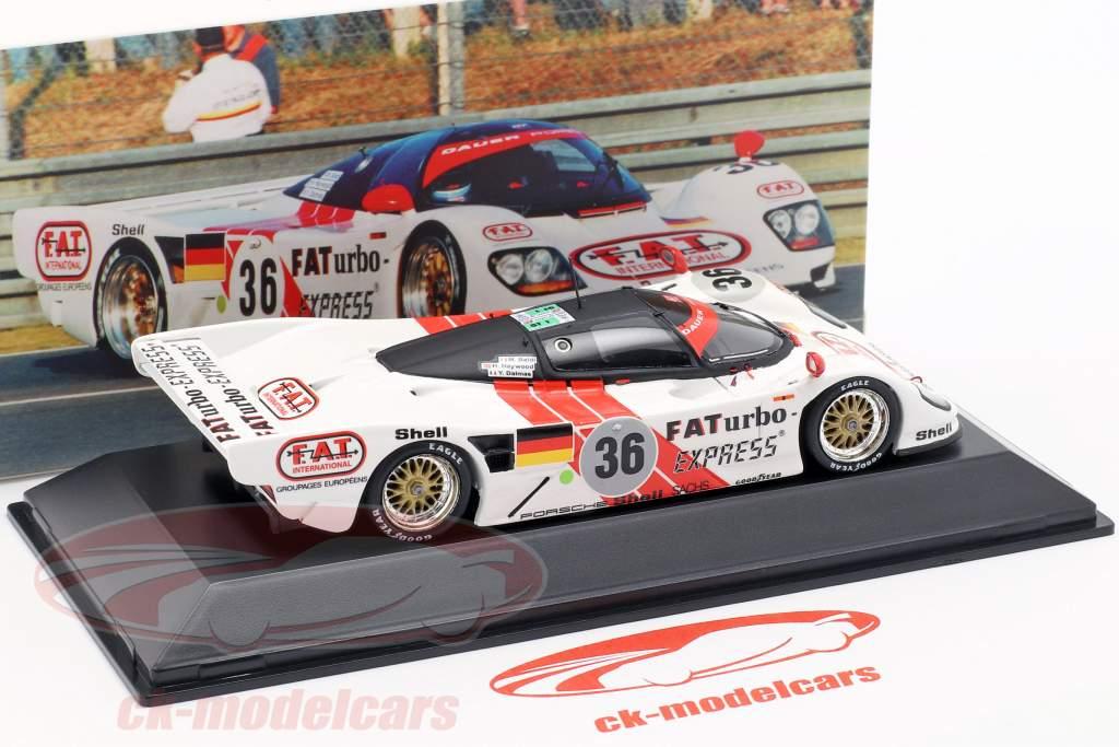 Dauer Porsche 962 #36 Winnaar 24 LeMans 1994 Dalmas / Haywood / Baldi 1:43 Spark