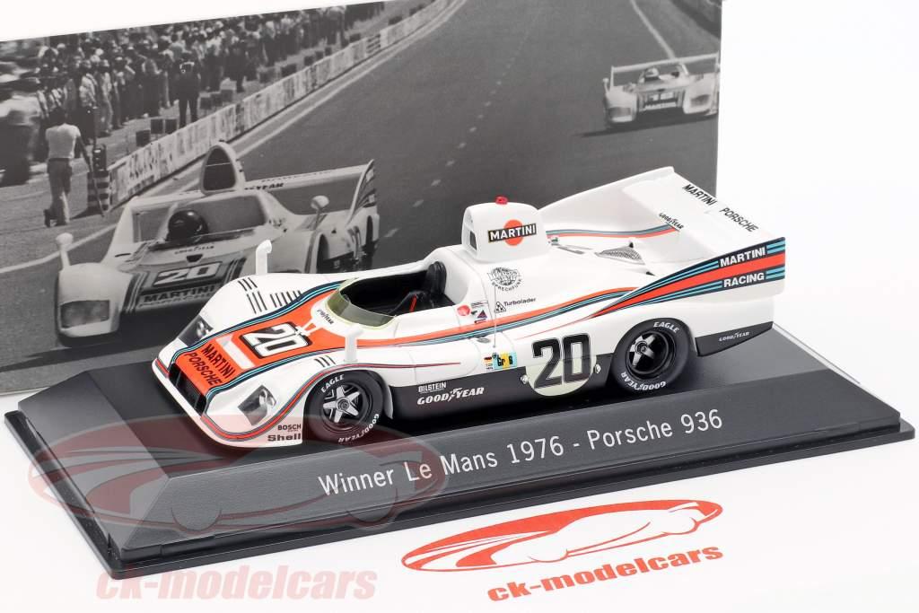 Porsche 936 #20 Ganador 24h LeMans 1976 Ickx, Lennep 1:43 Spark