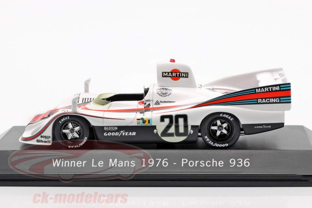 Porsche 936 #20 Vencedor 24h LeMans 1976 Ickx, Lennep 1:43 Spark