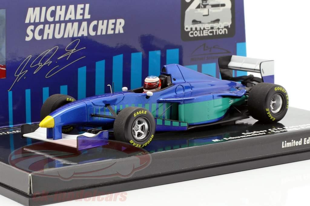 M. Schumacher Sauber C16 prova Fiorano formula 1 1997 1:43 Minichamps