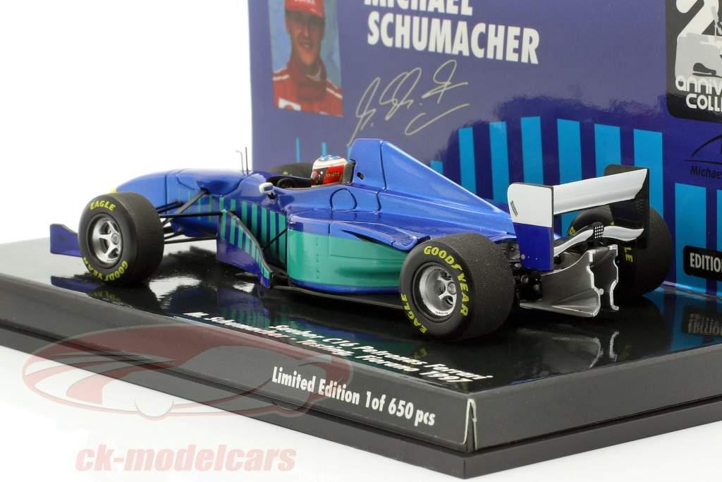 M. Schumacher Sauber C16 prueba Fiorano fórmula 1 1997 1:43 Minichamps