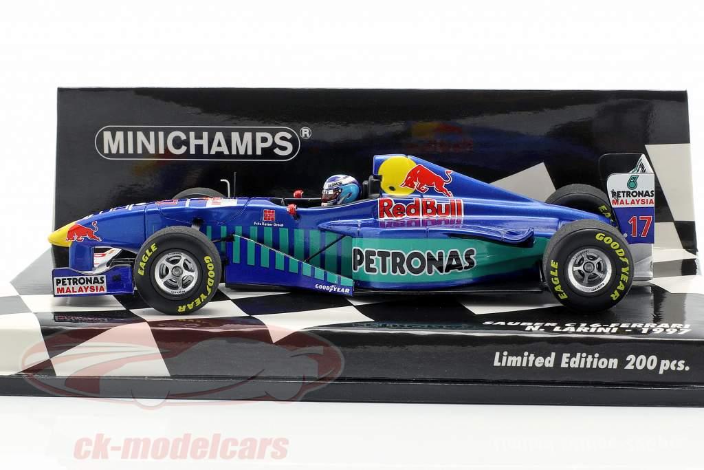 Nicola Larini Sauber C16 #17 fórmula 1 1997 1:43 Minichamps
