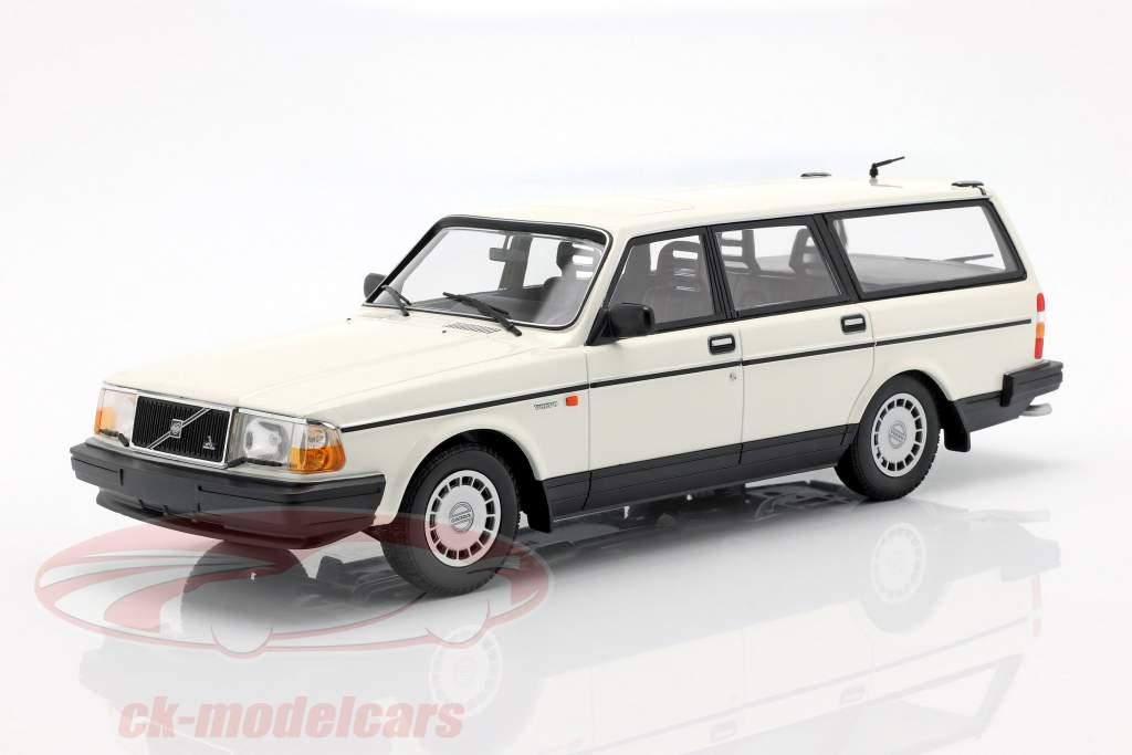 Volvo 240 GL Break année de construction 1986 blanc 1:18 Minichamps