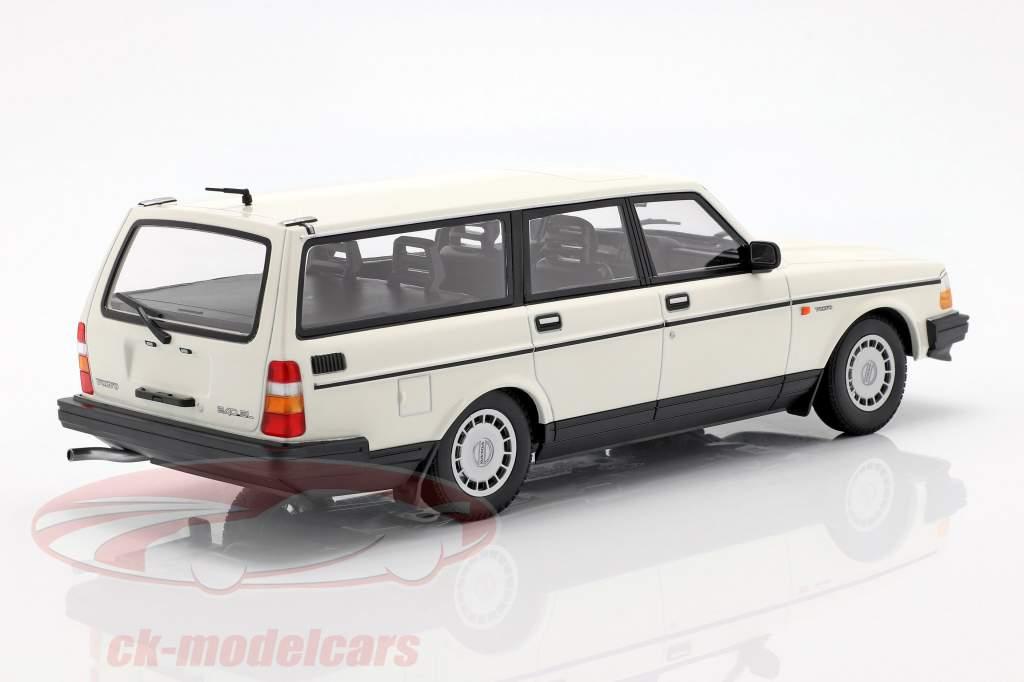 Volvo 240 GL Break año de construcción 1986 blanco 1:18 Minichamps