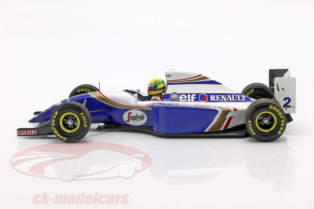 Ayrton Senna Williams FW16 #2 brésilien GP formule 1 1994 1:18 Minichamps