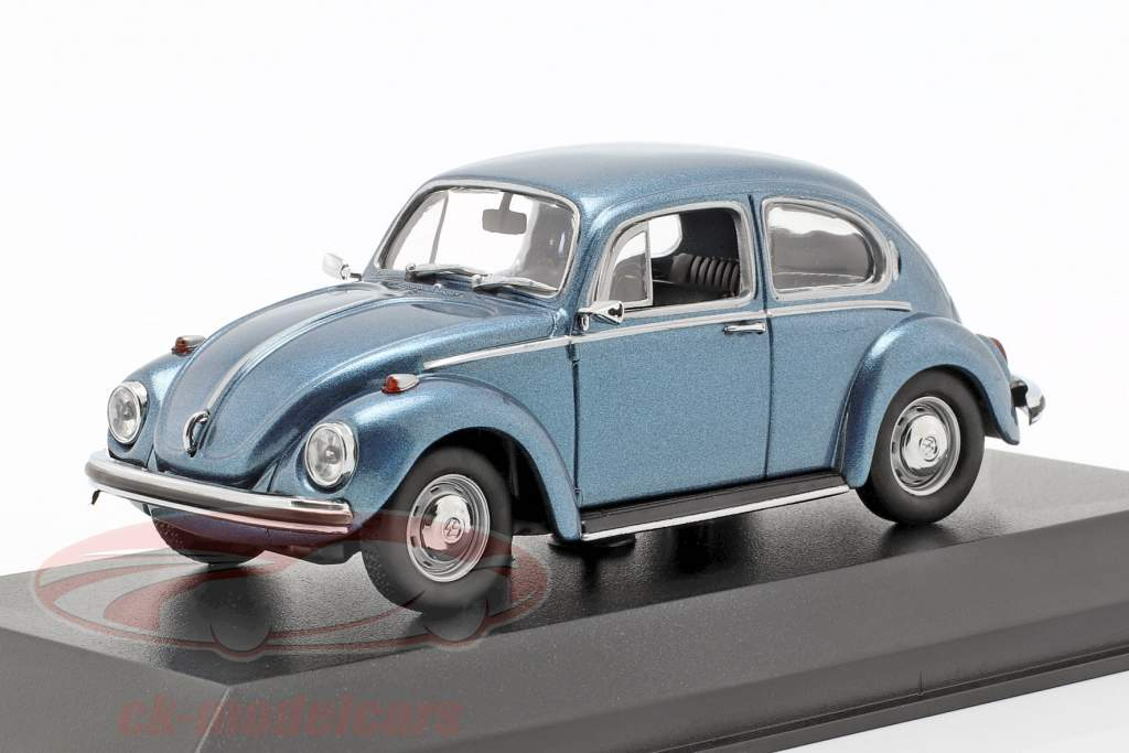 Volkswagen VW 1302 ano de construção 1970 azul metálico 1:43 Minichamps