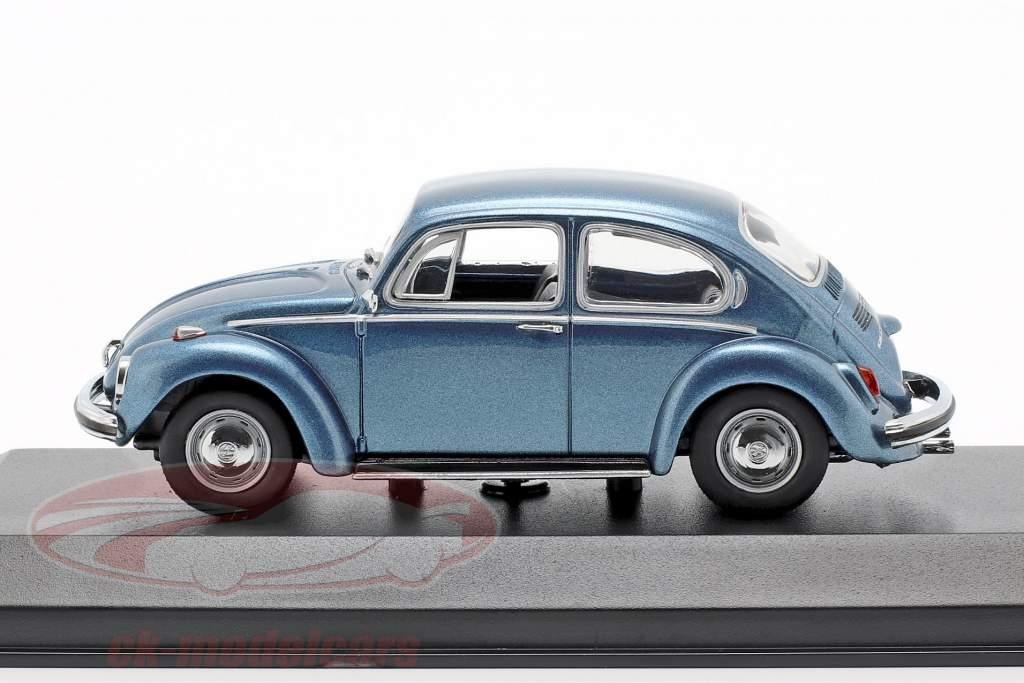 Volkswagen VW 1302 Baujahr 1970 blau metallic 1:43 Minichamps