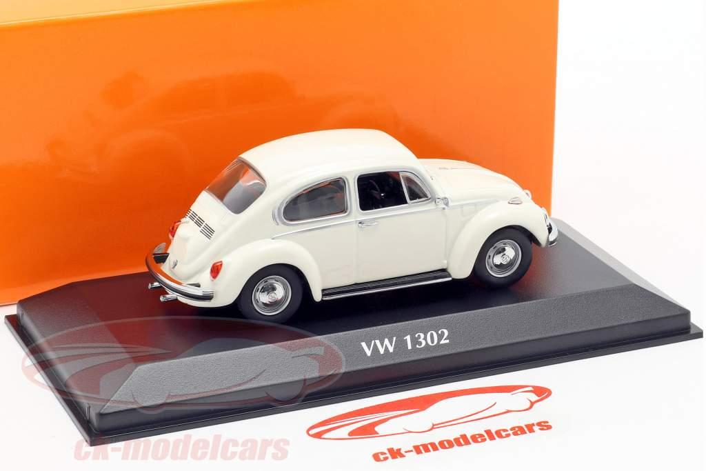 Volkswagen VW 1302 Opførselsår 1970 hvid 1:43 Minichamps
