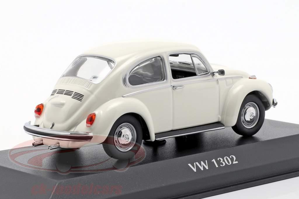Volkswagen VW 1302 anno di costruzione 1970 bianco 1:43 Minichamps