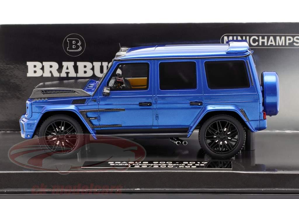 Brabus 900 basato su Mercedes-Benz G 65 anno di costruzione 2017 blu scuro 1:43 Minichamps