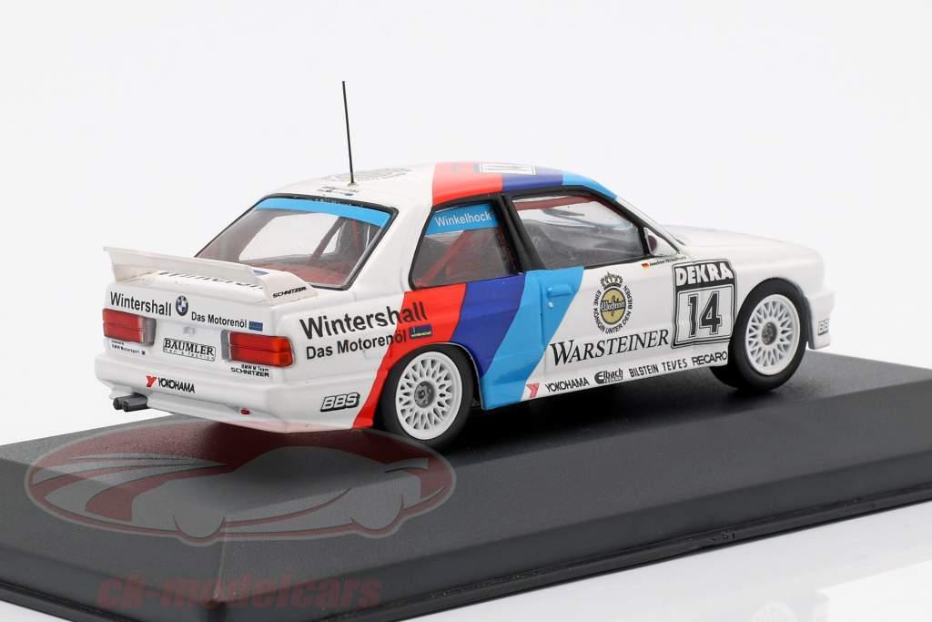 BMW M3 (E30) #14 gagnant Norisring DTM 1992 Joachim Winkelhock 1:43 CMR