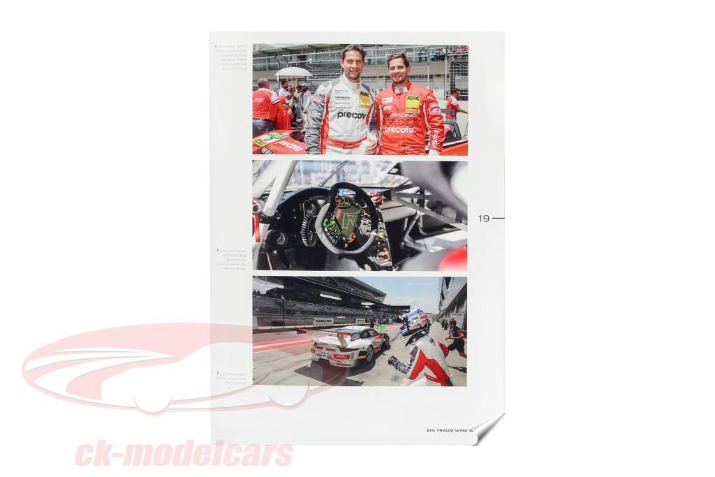 Set GT Masters campione 2018: libro con Porsche 911 (991) GT3 R #99 1:43 CMR