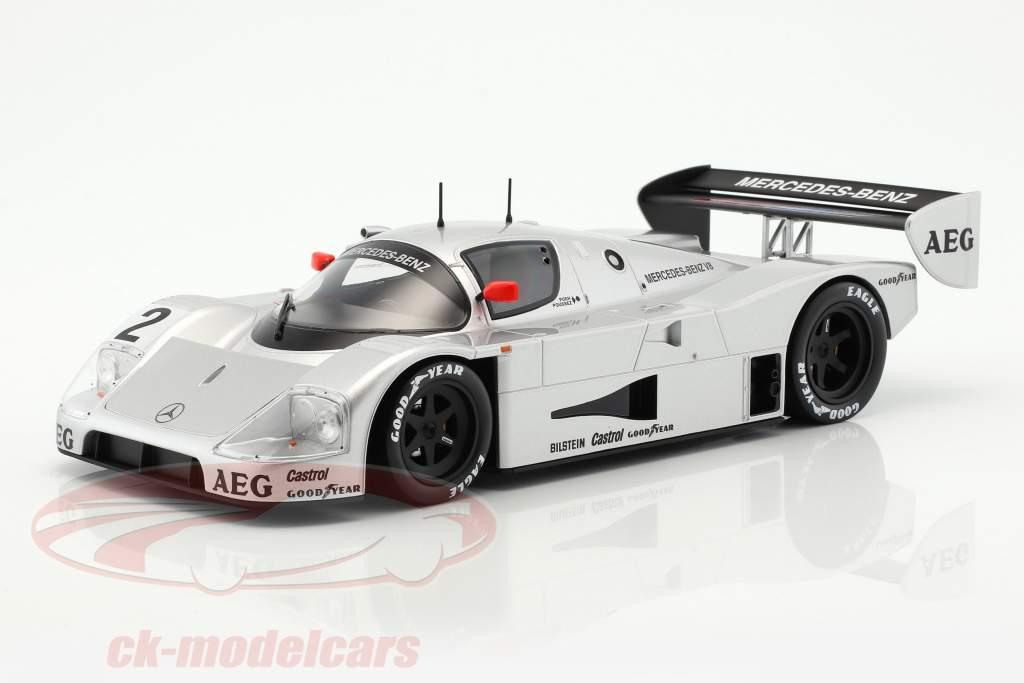 Sauber-Mercedes C9 #2 junior prova Schumacher, Wendlinger, Frentzen 1:18 Norev