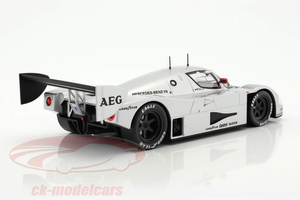 Sauber-Mercedes C9 #2 menor prueba Schumacher, Wendlinger, Frentzen 1:18 Norev